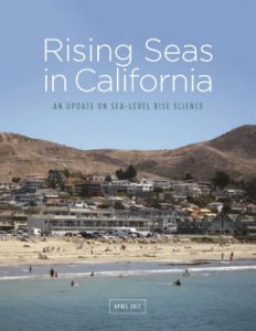 Cover image for Rising Seas in CA report