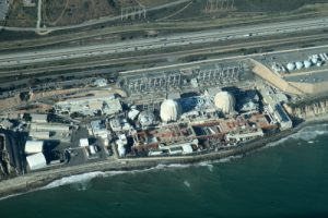 Aerial view of the San Onofre Nuclear Generating Station in San Diego County, California, May 26, 2012.
