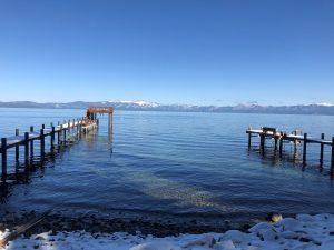 A Pier in Lake Tahoe