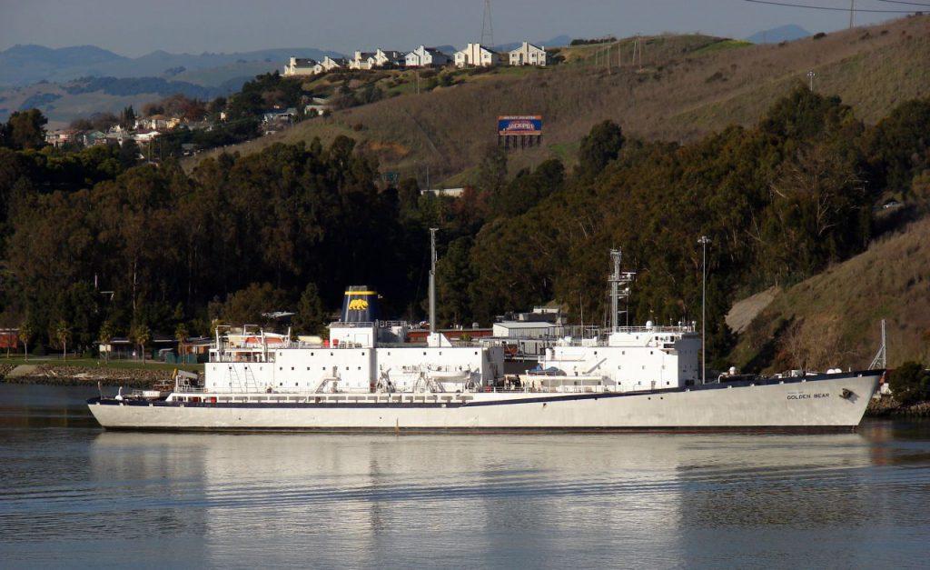 The Golden Bear ship in California State University