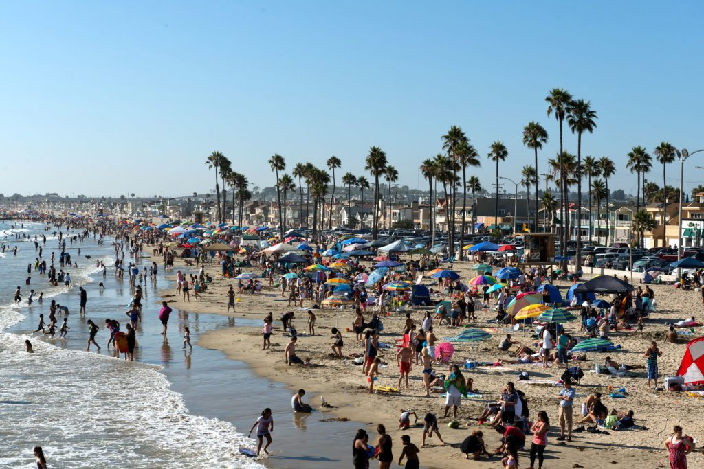 The city of Newport Beach is located in the coastal center of Orange County, California