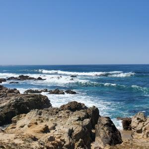 Ocean vista in Monterey County.