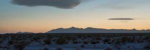 Scenic image of the desert in California.